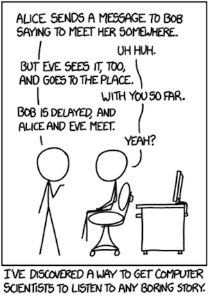Image of cartoon from XKCD